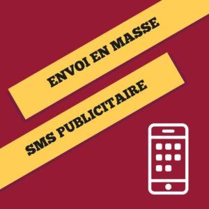 Création Envoi en masse SMS